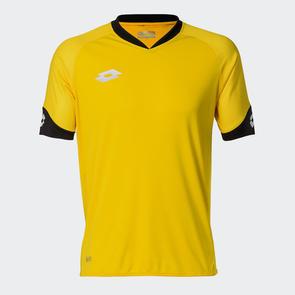 Lotto Junior Rival Shirt – Yellow/Black