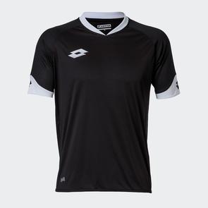 Lotto Junior Rival Shirt – Black/White