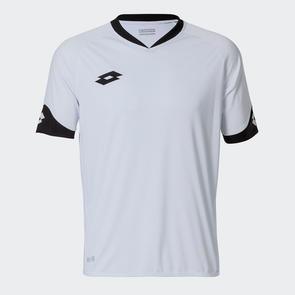 Lotto Junior Rival Shirt – White/Black