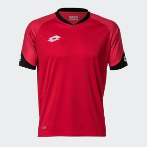 Lotto Junior Rival Shirt – Red/Black
