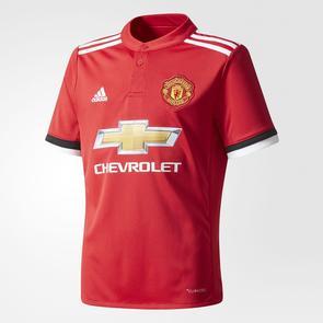 adidas Junior 2017-18 Manchester United Home Shirt