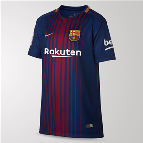 Nike Junior 2017-18 Barcelona Home Shirt