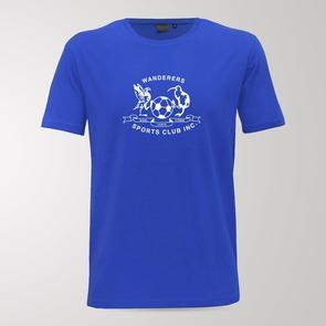 TSS Hamilton Wanderers Blue Army Tee – Blue