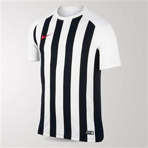 Nike Junior Inter Stripe Jersey – White/Black