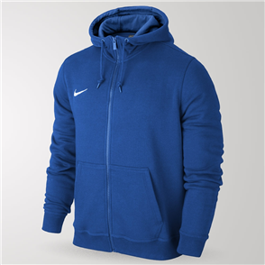 Nike Junior Team Club Full-Zip Hoodie – Blue