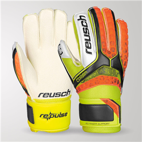 Reusch Junior Re:Pulse RG Finger Support GK Gloves – Orange