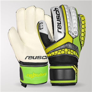 Reusch Junior Re:Pulse SG Finger Support GK Gloves – Green