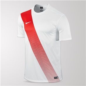 Nike Sash Jersey – White/Red