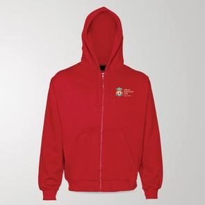 TSS Official LFC Supporters Club of NZ Zipped Hoodie – Red