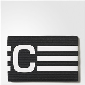 adidas Captain's Armband – Black/White