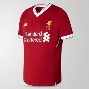 New Balance Junior 2017-18 Liverpool Home Shirt