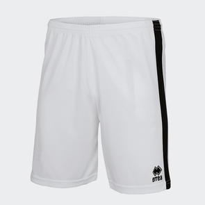 Erreà Junior Bolton Short – White/Black