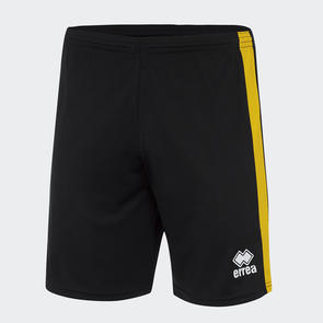 Erreà Junior Bolton Short – Black/Yellow