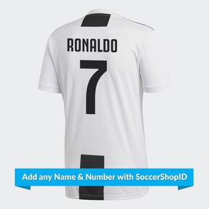 adidas Junior 2018-19 Juventus Home Shirt – PLAYER PRINTED
