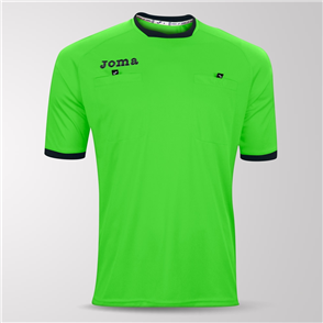 Joma Short Sleeve Referee Shirt – Green