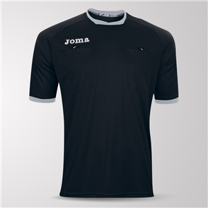 Joma Short Sleeve Referee Shirt – Black