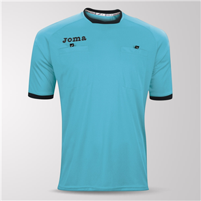 Joma Short Sleeve Referee Shirt – Blue