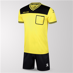 Kelme Arbitro Short Sleeve Referee Set – Yellow