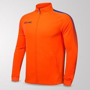 Kelme Estadio Training Jacket – Neon-Orange/Royal-Blue