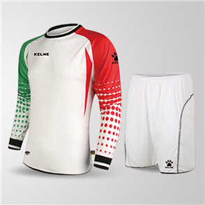 Kelme Salva Long Sleeve GK Set – White