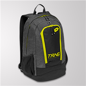 Lotto Training Backpack – Black/Yellow