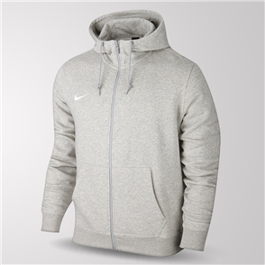 Nike Team Club Full-Zip Hoodie – Grey