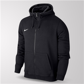 Nike Team Club Full-Zip Hoodie – Black