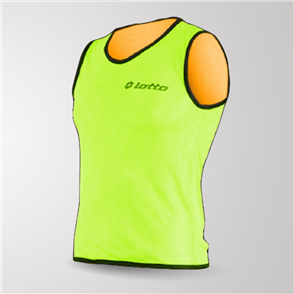 Lotto Reversible Mesh Bib – Orange/Green