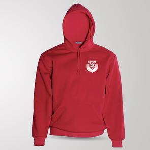 TSS Junior Claudelands Rovers Pullover Hoodie – Red