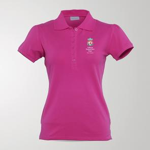 TSS Women's Official LFC Supporters Club of NZ Polo – Pink