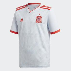 adidas Junior 2018 Spain Away Shirt