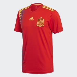 adidas 2018-19 Spain Home Shirt