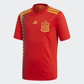 adidas Junior 2018 Spain Home Shirt