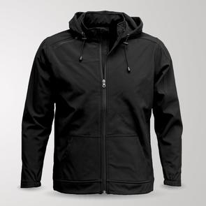 TSS Junior Elite Softshell Hoodie – Black