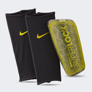 Nike Mercurial Lite SuperLock Shin Guards – Grey