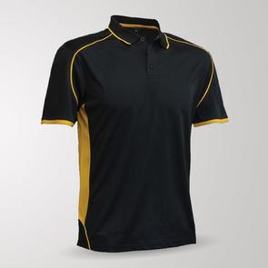 TSS Junior Matchpace Polo – Black/Gold