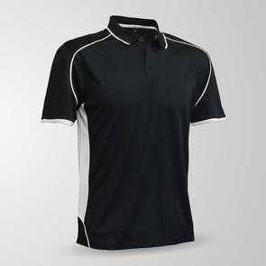 TSS Junior Matchpace Polo – Black/White