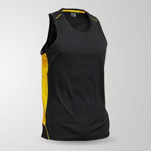 TSS Junior Matchpace Singlet – Black/Gold