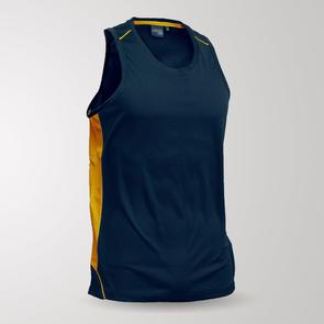 TSS Junior Matchpace Singlet – Navy/Yellow