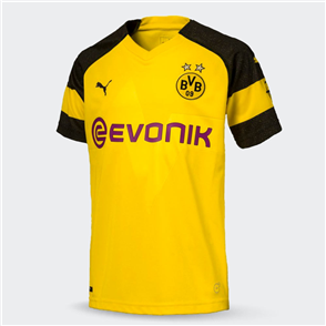 Puma Junior 2018-19 Borussia Dortmund Home Shirt
