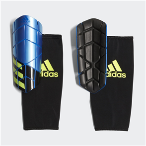 adidas Messi X Pro Shin Guard – Blue/Yellow