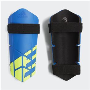 adidas X Lite Shin Guards – Blue/Yellow