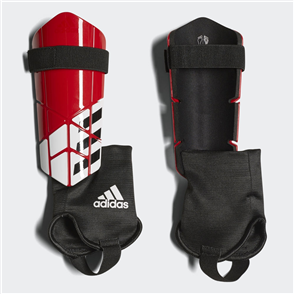 adidas X Club Shin Guards – Red/Black
