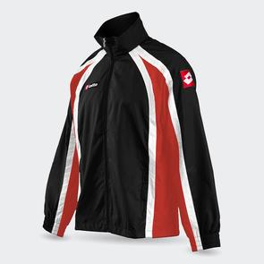 Lotto Hero Wind Jacket – Black/Red