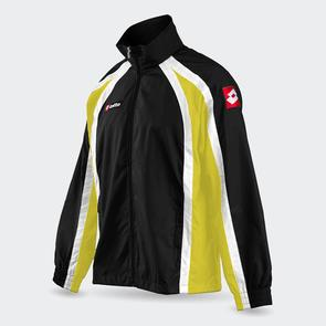 Lotto Junior Hero Wind Jacket – Black/White/Yellow
