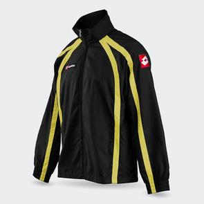 Lotto Junior Hero Wind Jacket – Black/Yellow