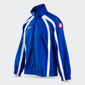 Lotto Junior Hero Wind Jacket – Blue/White