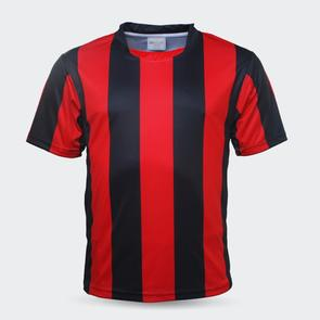 TSS Junior Striped Jersey – Red/Black
