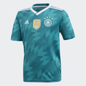 adidas Junior 2018 Germany Away Shirt
