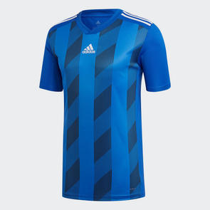 adidas Striped 19 Jersey – Blue/White